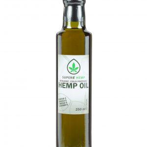 Organic Cold-pressed Hemp seed Oil